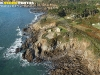 Plougonvelin, Bretagne Finistère vue du ciel