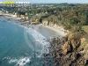 Plougonvelin plage de Ste Anne vue du ciel