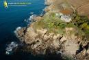 Ancien fort d'Illien, Ploumoguer vue du ciel