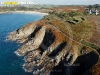 Kerargroaz, Ploumoguer, Bretagne Finistère vue du ciel