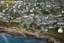 Porspoder,  Finistère vue du ciel
