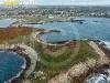 Presqu'île de St-Laurent, Porspoder vue du ciel