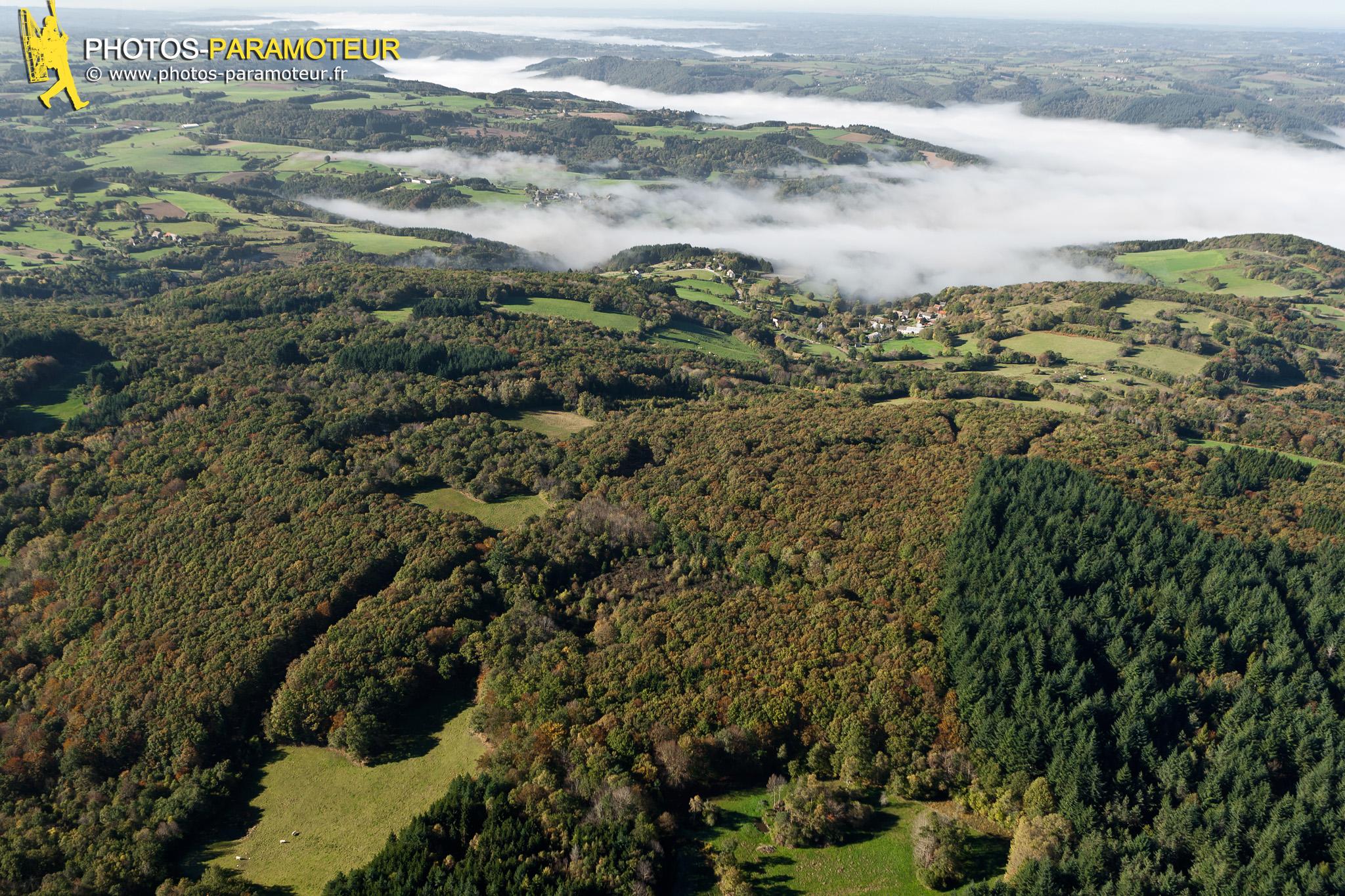 L'Auvergne vue du ciel, Saint-Rémy-de-Blot