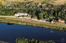 Saint-Dyé-sur-Loire vu du ciel