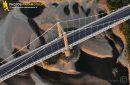 Photo aérienne du pont de Saint-Florent-le-Vieil