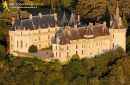 Chaumont, France - 26 Juin 2011: Château de Chaumont sur Loire en Gros plan